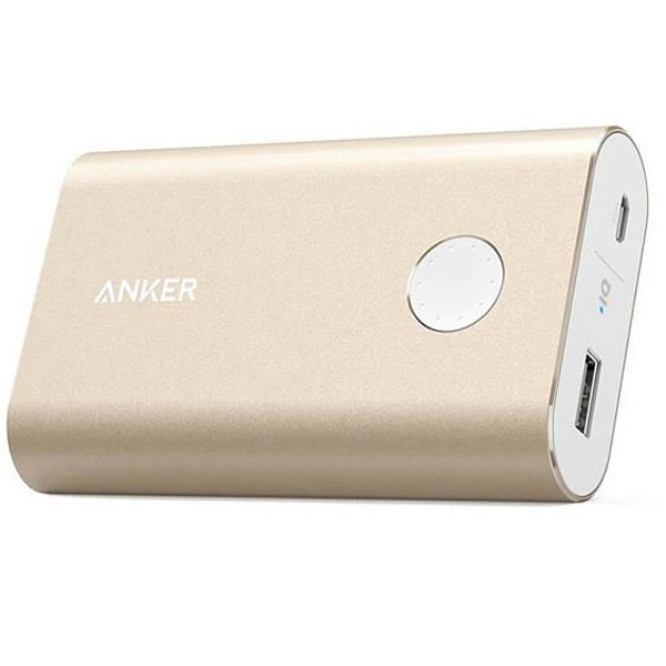 Power Bank Anker A1311HB1 PowerCore Plus With Quick Charge 3.0 10050mAh، پاور بانک انکر همراه مدل A1311HB1 PowerCore Plus With Quick Charge 3.0 با ظرفیت 10050