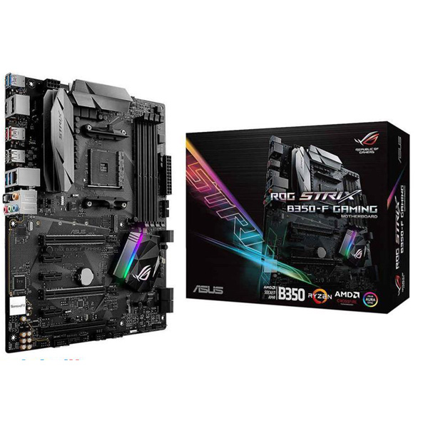 MotherBoard ASUS ROG STRIX B350-F GAMING AM4، مادربرد ایسوس ROG STRIX B350-F GAMING AM4