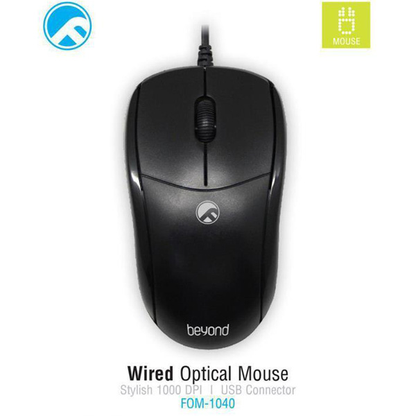 Mouse Farassoo FOM-1040 Wired، موس فراسو FOM-1040 Wired