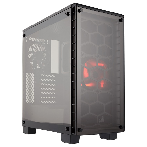CASE Corsair Crystal Series 460X Compact ATX MID-Tower، کیس کورسیر Crystal Series 460X Compact ATX MID-Tower